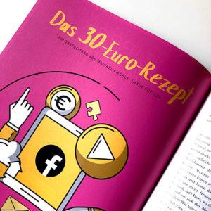 Das 30-Euro-Rezept, Facebook Gastbeitrag im SocialHub Mag